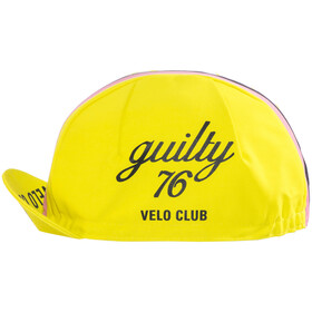 guilty 76 racing Velo Club Race - Accesorios para la cabeza - amarillo